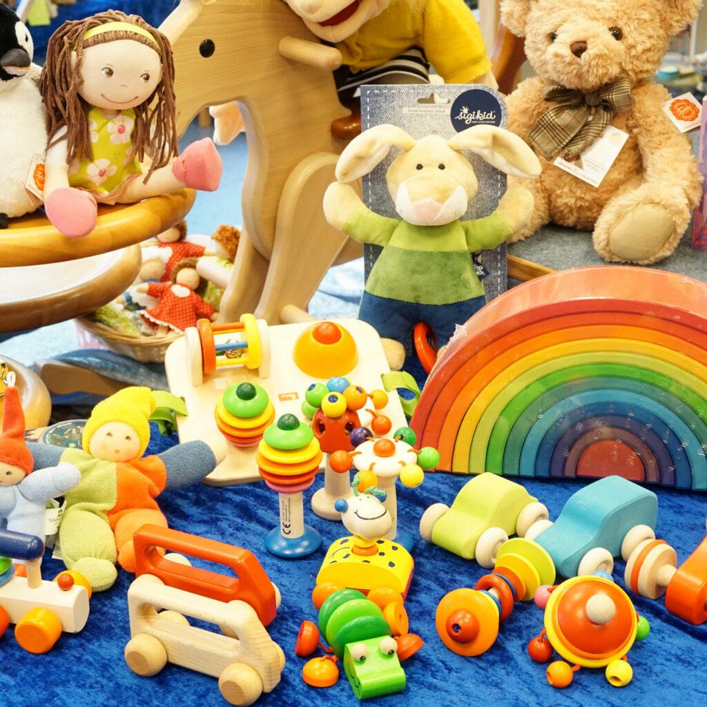 Holzspielzeug für Babys, Autos, Schnullerkette, Greifringe