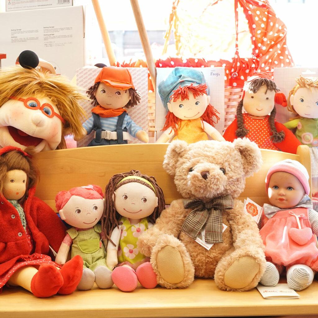 Puppen, Teddybären, Käthe Kruse